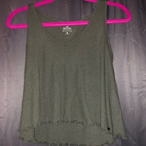 Hollister Cropped Tank Top